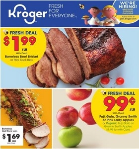 Kroger Weekly Flyer March 25 - March 31, 2020. Great Deals!