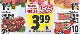 Western Beef Weekly Ad March 5 - March 11, 2020. Fresh Frozen Oxtails