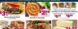 Gerrity's Weekly Ad April 19 - April 25, 2020. Food For Families!
