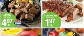 Shaw's Weekly Circular May 1 - May 7, 2020. St Louis Ribs