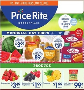 Price Rite Weekly Ad May 15 - May 28, 2020. Memorial Day BBQ's!