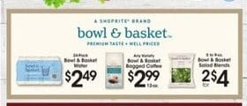 Price Rite Weekly Ad May 29 - June 4, 2020. Bowl & Basket Bagged Coffee
