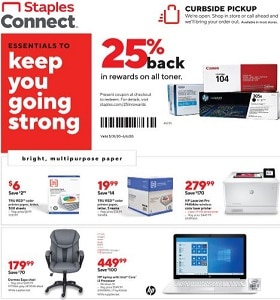 Staples Weekly Ad May 31 - June 6, 2020. Save Big