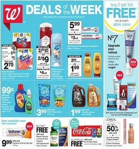 Walgreens Weekly Ad May 31 - June 6, 2020. Summer Buys!