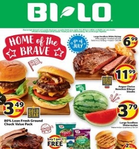 BI-LO Weekly Ad July 1st - July 7th, 2020. Home Of The Brave!