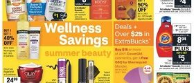CVS Weekly Circular June 7 - June 13, 2020. Wellness Savings!