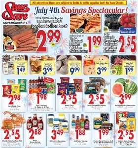 Gerrity's Weekly Ad June 28 - July 4, 2020. Independence Day Savings!