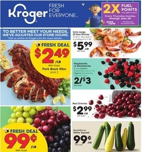 Kroger Weekly Ad May 3 - May 9, 2020. Great Deals!