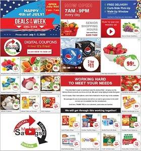 Marc's Weekly Circular July 1st - July 7th, 2020. Happy 4th Of July!