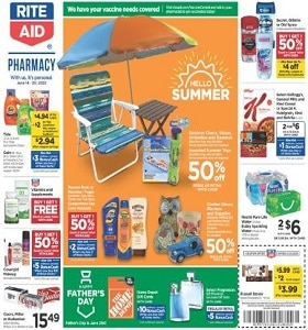 Rite Aid Weekly Flyer June 14 - June 20, 2020. Father's Day Favorites!