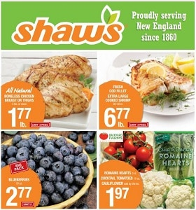 Shaw's Weekly Flyer June 12 - June 18, 2020. Fresh Cod Fillet