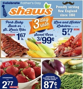 Shaw's Weekly Ad June 19 - June 25, 2020. Celebrate Father's Day!