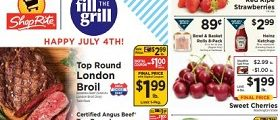 ShopRite Weekly Circular June 28 - July 4, 2020. Happy July 4th!