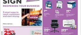 Staples Weekly Ad June 21 - June 27, 2020. Save Big!
