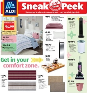 Aldi Weekly Circular July 8 - July 14, 2020. Get Into Your Comfort Zone!