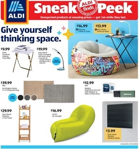 Aldi Weekly Ad July 22 - July 28, 2020. Thingk Space!