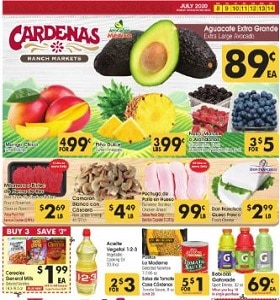 Cardenas Weekly Ad July 8 - July 14, 2020. Summertime Deals!