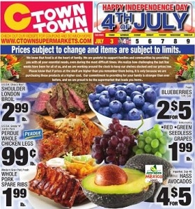 Ctown Weekly Circular July 3 - July 9, 2020. Happy Independence Day!