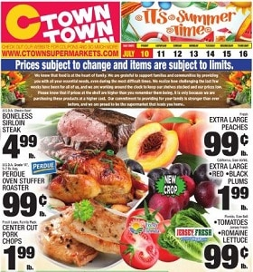 Ctown Weekly Ad July 10 - July 16, 2020. Summer Time Deals!