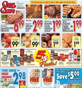 Gerrity's Weekly Ad July 5 - July 11, 2020. 5 for $5 Fiesta!