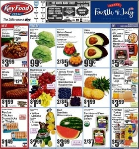 Key Food Weekly Flyer July 3 - July 9, 2020. Happy 4th Of July!