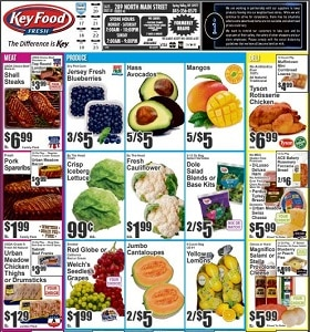 Key Food Weekly Specials July 17 - July 23, 2020. Shell Steaks