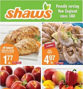 Shaw's Weekly Ad July 10 - July 16, 2020. California Yellow Peaches