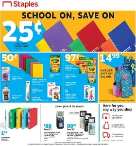 Staples Weekly Flyer July 12 - July 18, 2020. Super Low Prices!