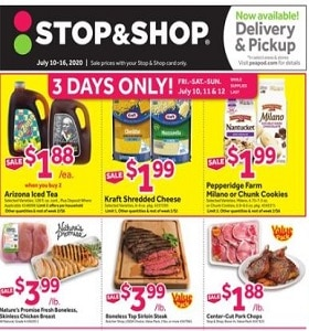 Stop & Shop Weekly Circular July 10 - July 16, 2020. Stock Up & Save!