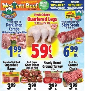 Western Beef Weekly Ad July 19 - July 25, 2020. Chicken Quartered Leg on Sale!