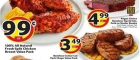 BI-LO Weekly Ad August 12 - August 18, 2020. All Natural Fresh Split Chicken Breast