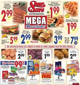 Gerrity's Weekly Ad August 2 - August 8, 2020. Mega Meat Sale!