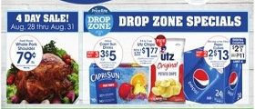 Price Rite Weekly Ad August 28 - September 3, 2020. Drop Zone Specials