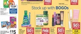 Rite Aid Weekly Circular August 23 - August 29, 2020. Stock Up With BOGOs!