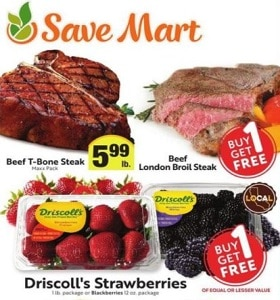 Save Mart Weekly Specials August 12 - August 18, 2020. Beef London Broil Steak