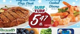 Shaw's Weekly Circular August 7 - August 13, 2020. Surf & Turf