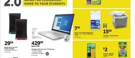 Staples Weekly Circular August 16 - August 22, 2020. Bring The Classroom Home!