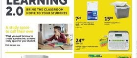 Staples Weekly Circular August 23 - August 29, 2020. Bring The Classroom Home!