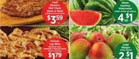 Vallarta Weekly Ad August 19 - August 25, 2020. Whole Seedless Watermelon
