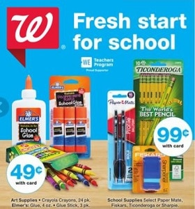 Walgreens Weekly Ad August 9 - August 15, 2020. Fresh Start For School!