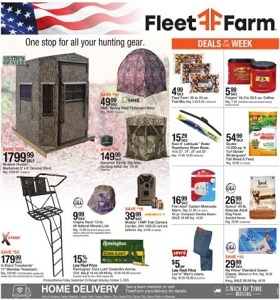 Fleet Farm Weekly Ad September 25 - October 3, 2020. Hunting Gear on Sale!
