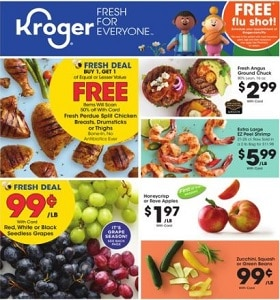 Kroger Weekly Circular September 6 - September 12, 2020. Great Deals!