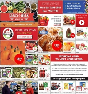Marc's Weekly Ad September 16 - September 22, 2020. Lean Ground Chuck