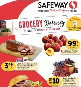 Safeway Weekly Ad September 16 - September 22, 2020. Sweet Yellow Peaches