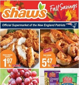 Shaw's Weekly Circular September 11 - September 17, 2020. Fall Savings