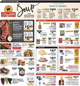ShopRite Weekly Ad September 27 - October 3, 2020. Bowl & Basket Deals!