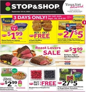 Stop & Shop Weekly Ad September 18 - September 24, 2020. Family Meals Ideas