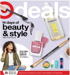 Target Weekly Ad September 27 - October 3, 2020. Stunning Deals!