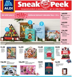 Aldi Weekly Ad November 4 - November 10, 2020. Create A Cozy Welcome!