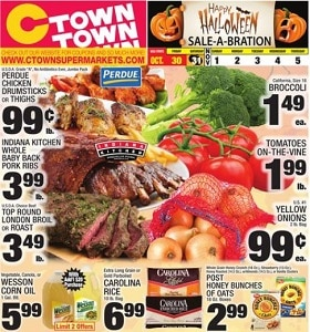 Ctown Weekly Ad October 30 - November 5, 2020. Halloween Sale-A-Bration!